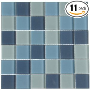 Shimmer Blends Mosaic Glass Arctic Matte, 11-Pack