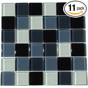 Interceramic Shimmer Blends Mosaic Glass Tile