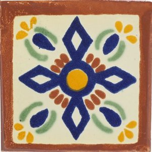 4x4 San Angel Ceramic Talavera